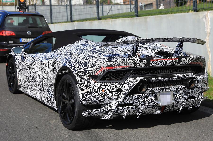 631bhp Lamborghini Huracan Spyder Performante