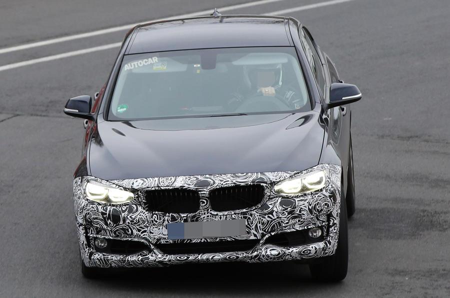 BMW 3 Series GT spy shots