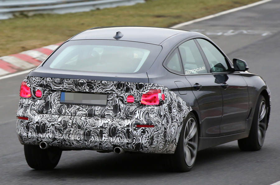 BMW 3 Series GT spy shots