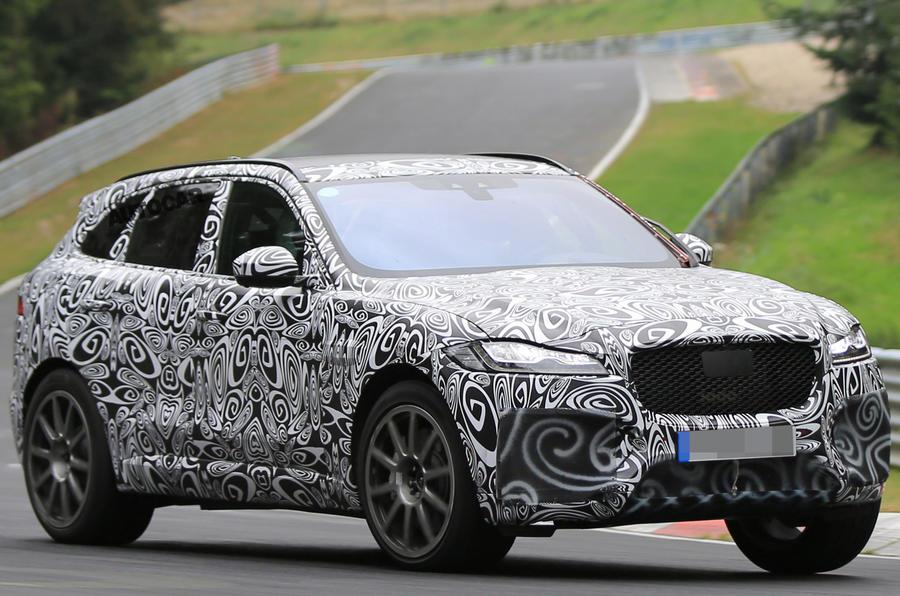 2018 jaguar xe svr. perfect 2018 jaguar fpace svr spotted for the first time intended 2018 jaguar xe svr