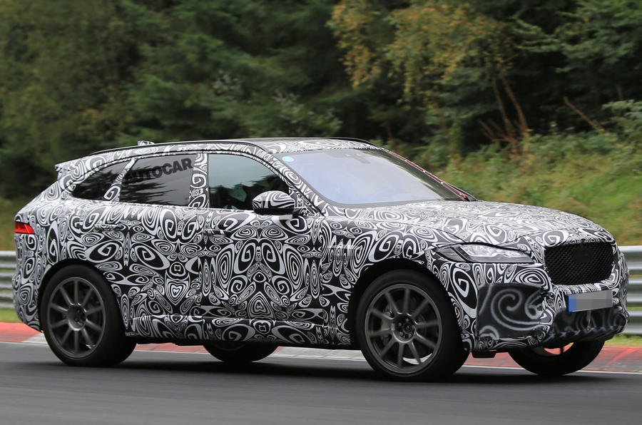 570bhp Jaguar F Pace Svr Spotted Winter Testing Ahead Of