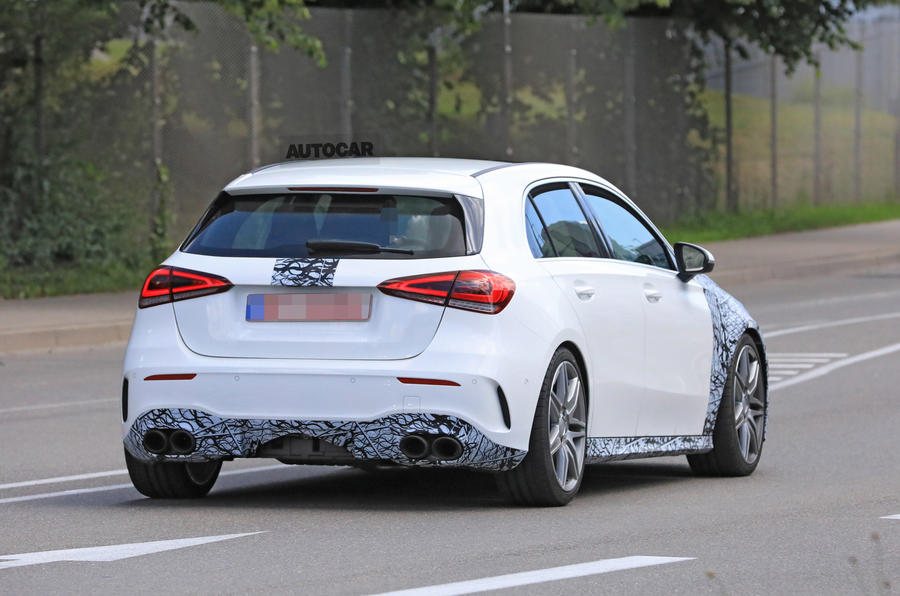 2019 Mercedes Amg A45 Power Output Revealed For Super Hatch Autocar