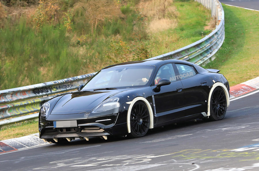 The Porsche Taycan was previously called the Mission E