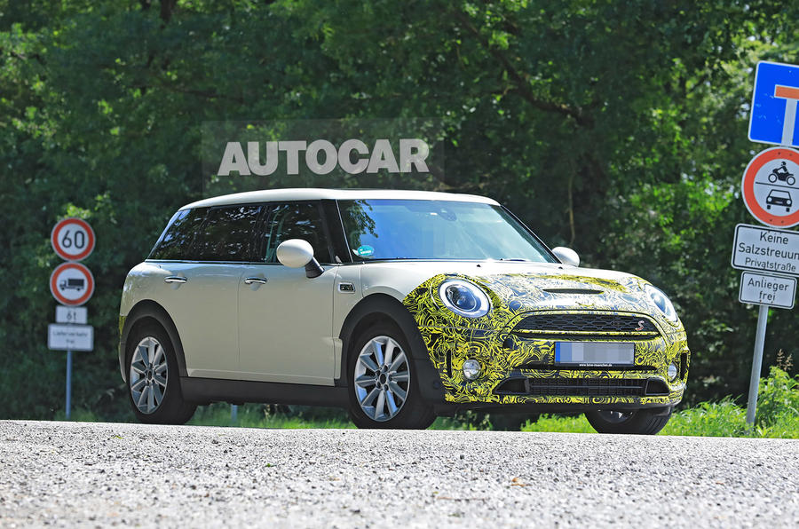 Mini Clubman Set For Update In Late 2018 Autocar