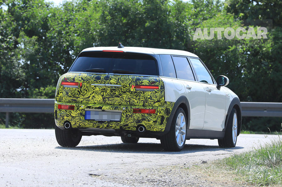 Mini Clubman set for late-2018 facelift