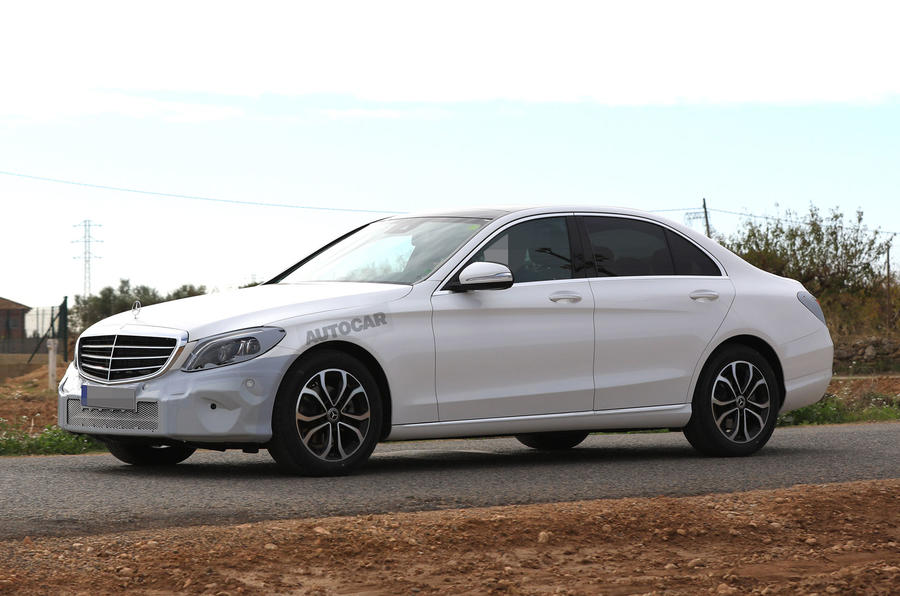Mercedes-Benz C-Class facelift due at 2018 Geneva motor show