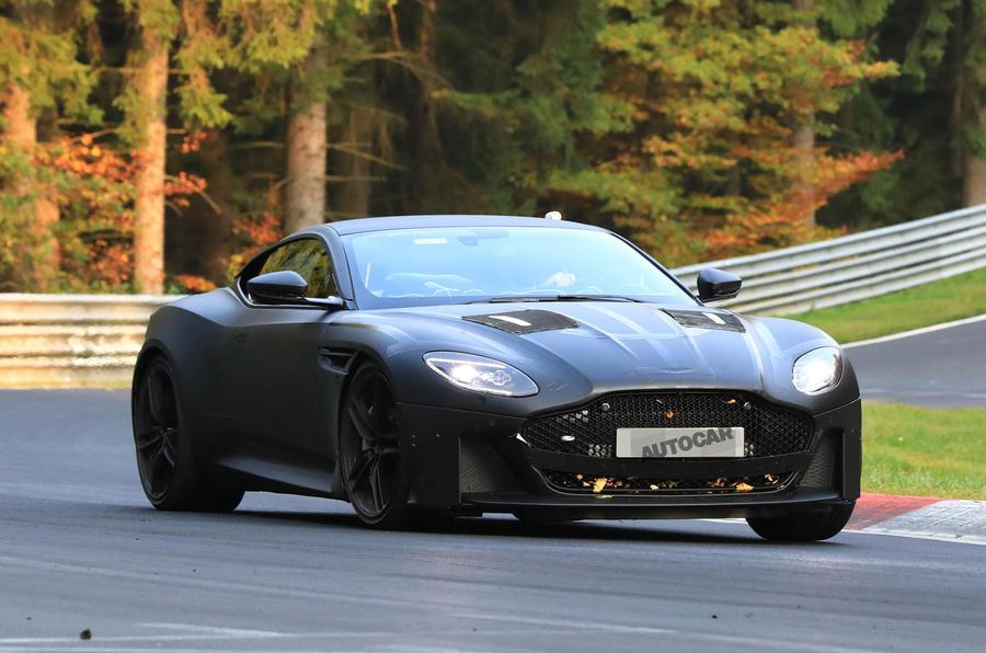 Aston Martin Dbs Superleggera Leak Shows Design Of 715bhp Supercar