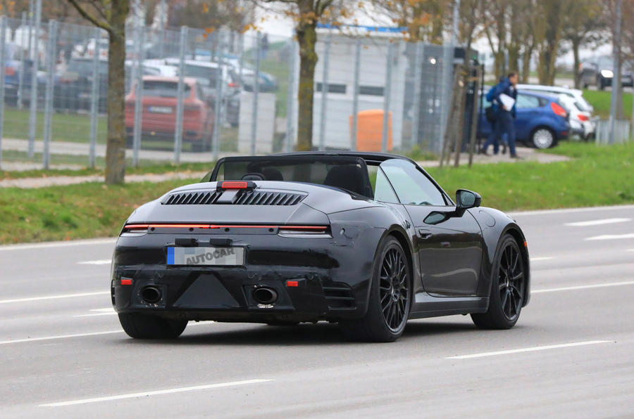 2019 Porsche 911 Images Of New 992 Model Leak Autocar