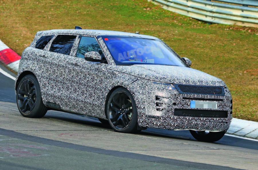 Next-generation Range Rover Evoque