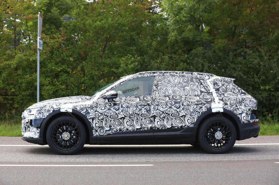 ... Audi E Tron   High Performance Electric SUV Enters Latter Testing  Stages ...