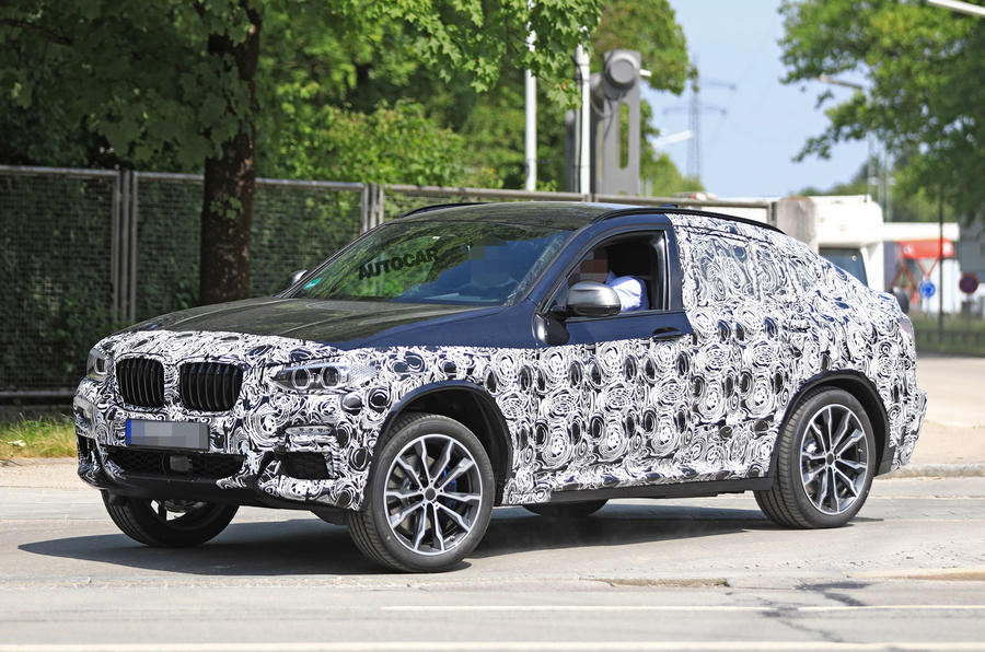 BMW X4 spotted in hot M40i form ahead of 2018 launch  BMW X4 Forum