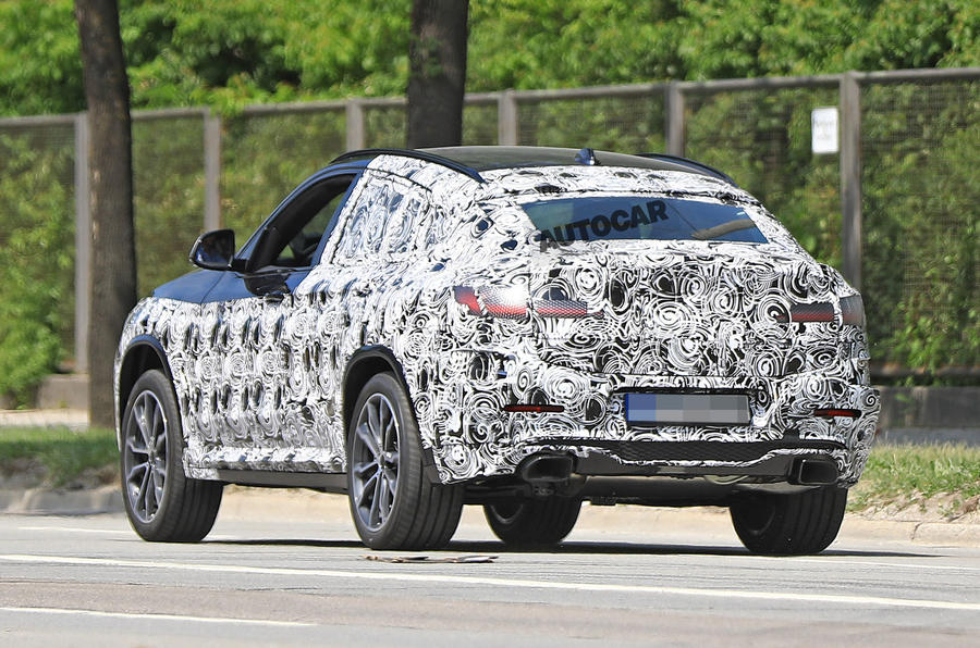 2018 bmw x4. exellent bmw bmw x4 spotted in hot m40i form ahead of 2018 launch intended bmw x4