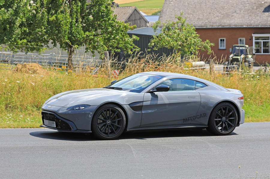 2019 Aston Martin Vantage Will Be First To Mate Manual