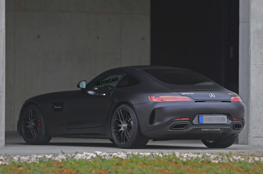 2017 Mercedes Amg Gt C Coupe To Get 549bhp Twin Turbo V8