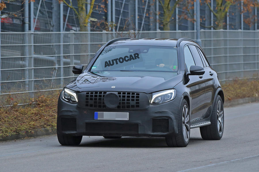 Mercedes-AMG GLC 63 due in 2017