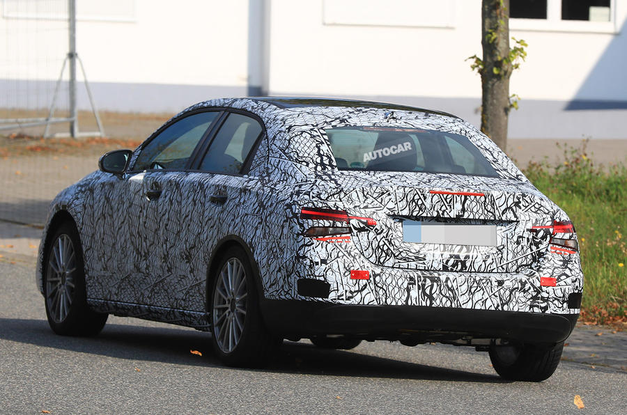 2018 mercedes benz a class.  2018 mercedesbenz aclass saloon tests on public roads for the first time  with 2018 mercedes benz a class z