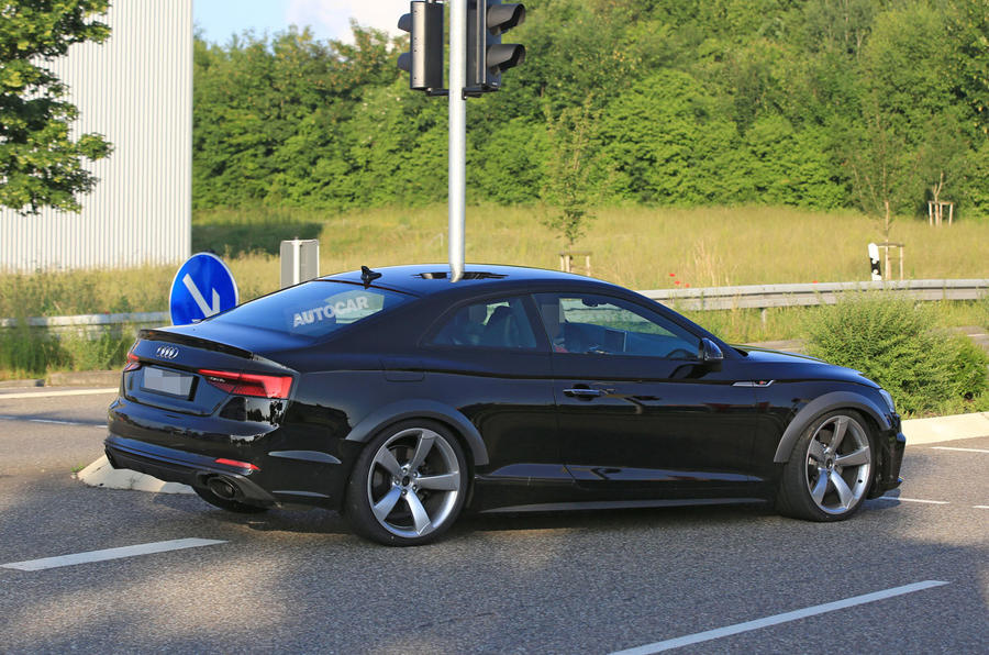 2017 audi rs5 new turbocharged v6 note recorded at the ring