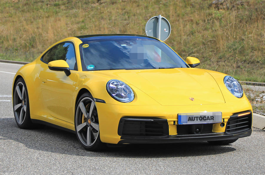 Porsche 911 992 >> 2019 Porsche 911: images of new '992' model leak | Autocar