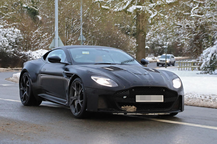2018 Aston Martin Vanquish: Ferrari 812 Superfast rival caught testing in UK