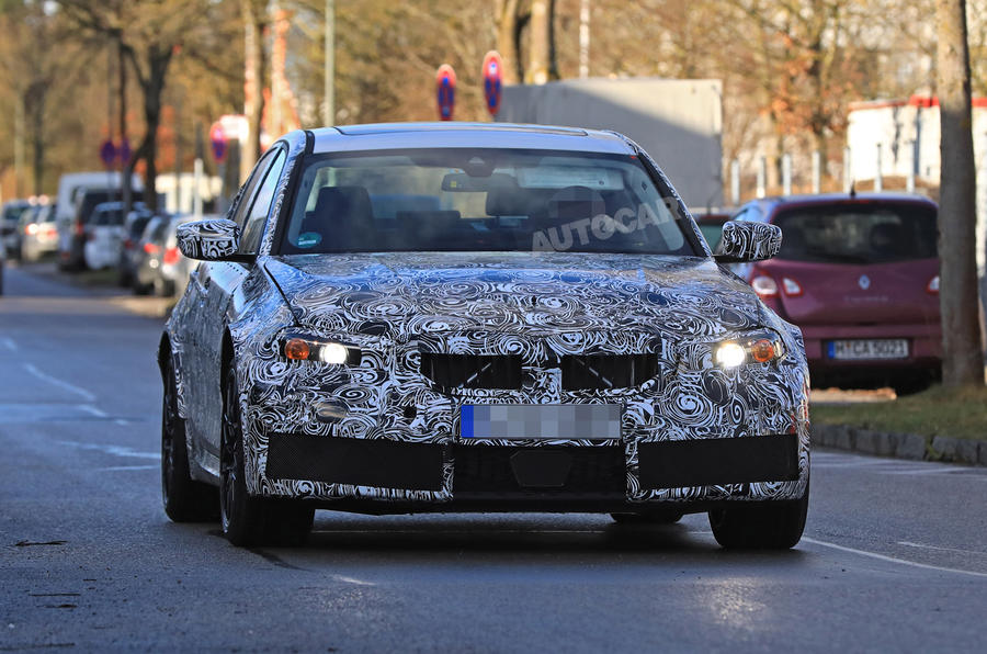 2020 BMW M3: first pictures of 465bhp super-saloon