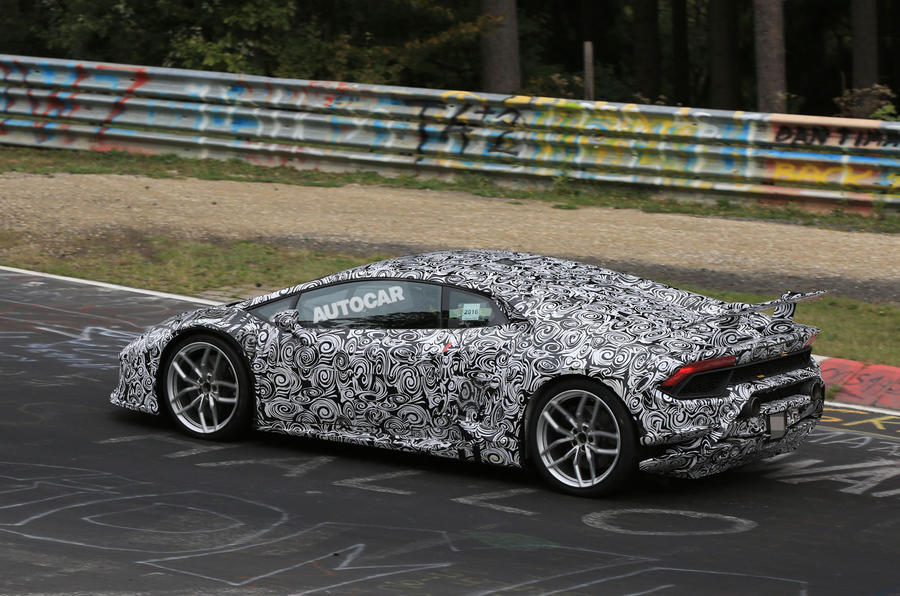2017 Lamborghini Huracán Superleggera due in March