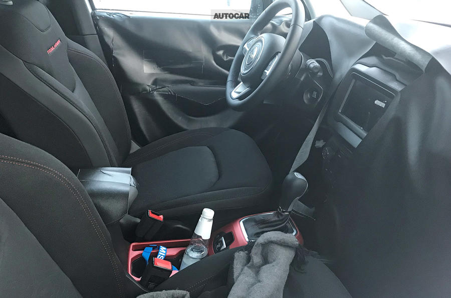 2019 Jeep Renegade gets boosted interior tech