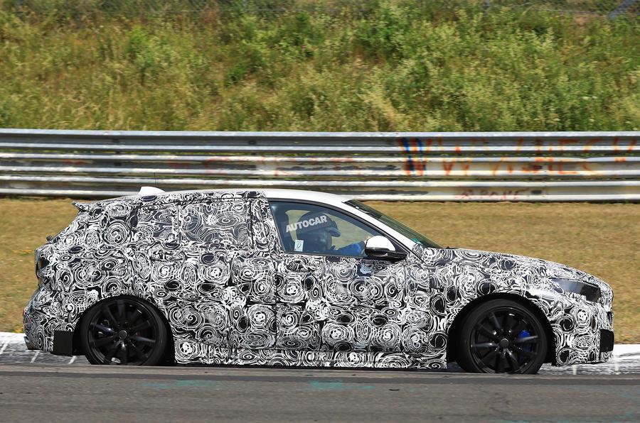 Hot BMW 1 Series tests at the Nürburgring