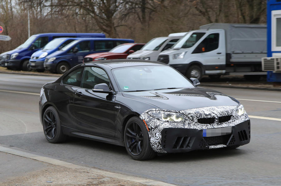 Facelifted BMW M2 front