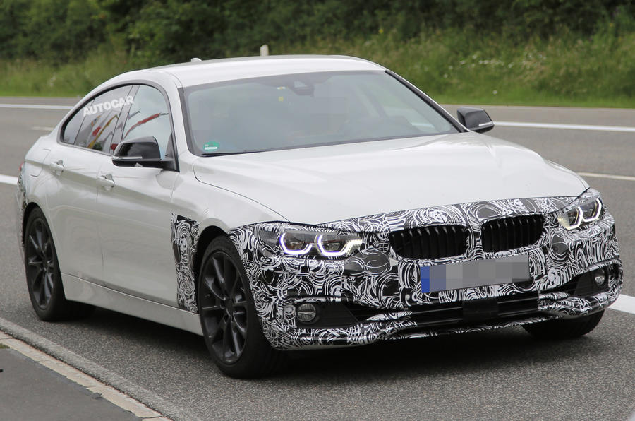 2017 BMW 4 Series Gran Coupé facelift