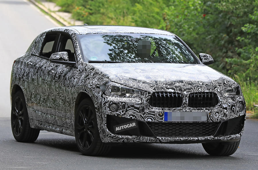 BMW X2 test shots show concept looks to remain for production