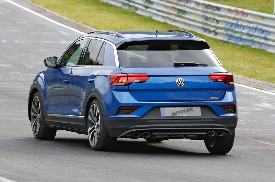 volkswagen t roc r 306bhp suv to be 39 most agile in class 39 autocar. Black Bedroom Furniture Sets. Home Design Ideas
