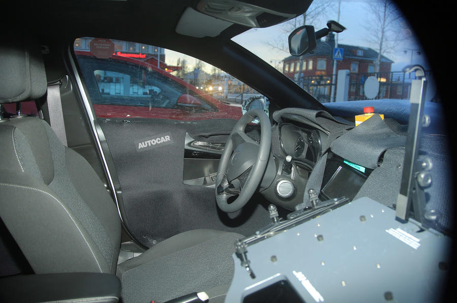 2018 Vauxhall Corsa hatch interior