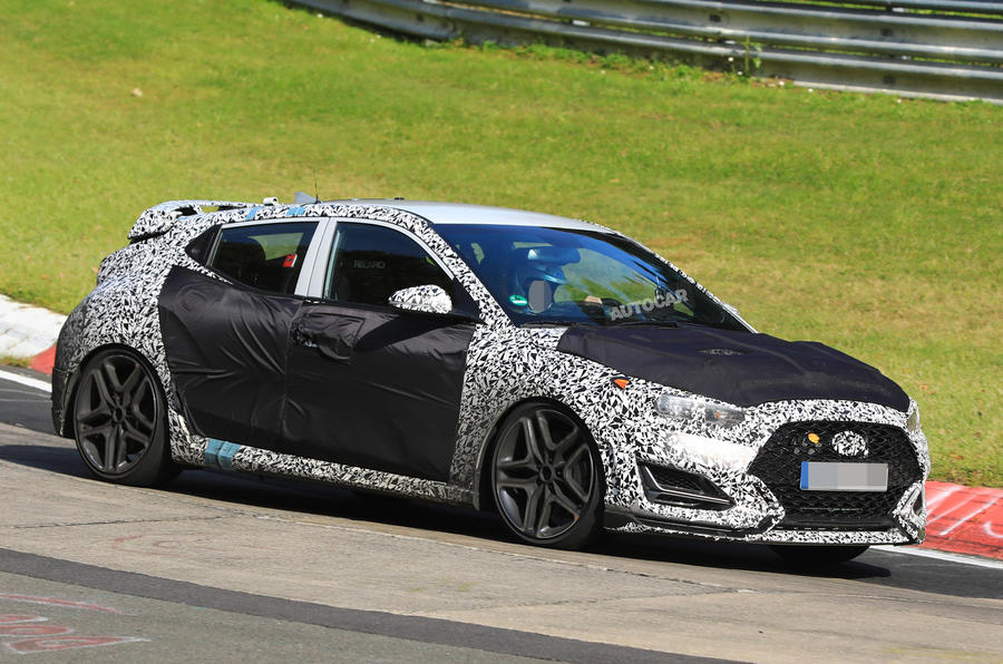 275bhp Hyundai Veloster N: latest sighting reveals interior design