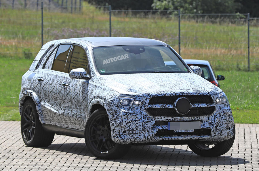 2018 Mercedes-Benz GLE – hot GLE 63 variant spotted