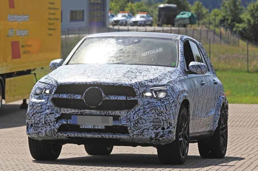 2018 mercedes benz gle. simple benz 2018 mercedesbenz gle  hot 63 variant spotted  on mercedes benz gle e