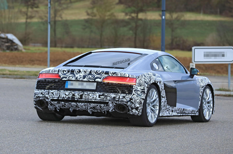2018 Audi R8: lower-priced 2.9-litre V6 variant to join facelifted range
