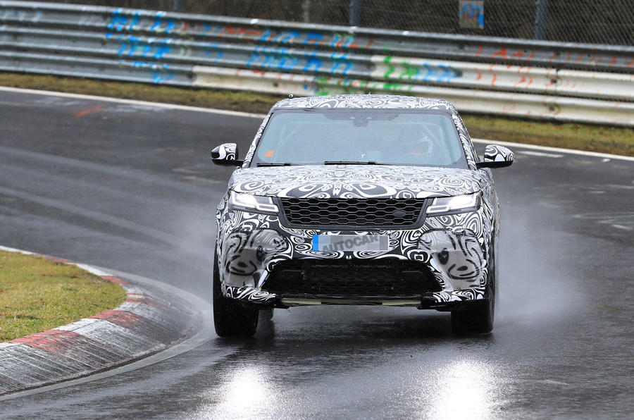 Range Rover Velar SVR: 542bhp super SUV due this October