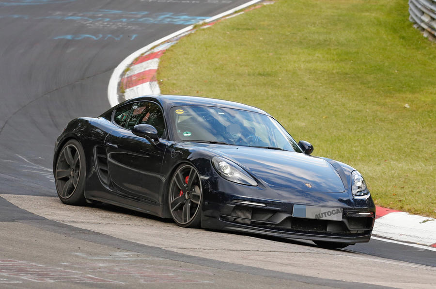 Porsche 718 Cayman GTS and Boxster GTS due with 375bhp