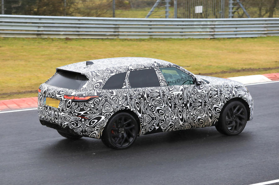 2019 Range Rover Velar SVR: News, Specs, Price >> 542bhp Velar Svr To Be Quickest Range Rover Yet Autocar