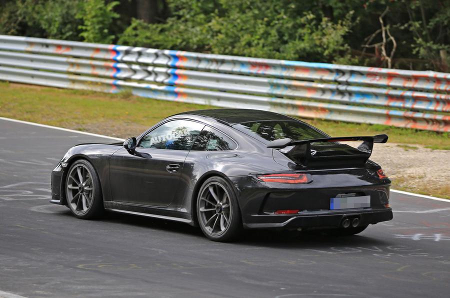 2017 Porsche 911 Gt3 Facelift Spotted Undisguised Autocar