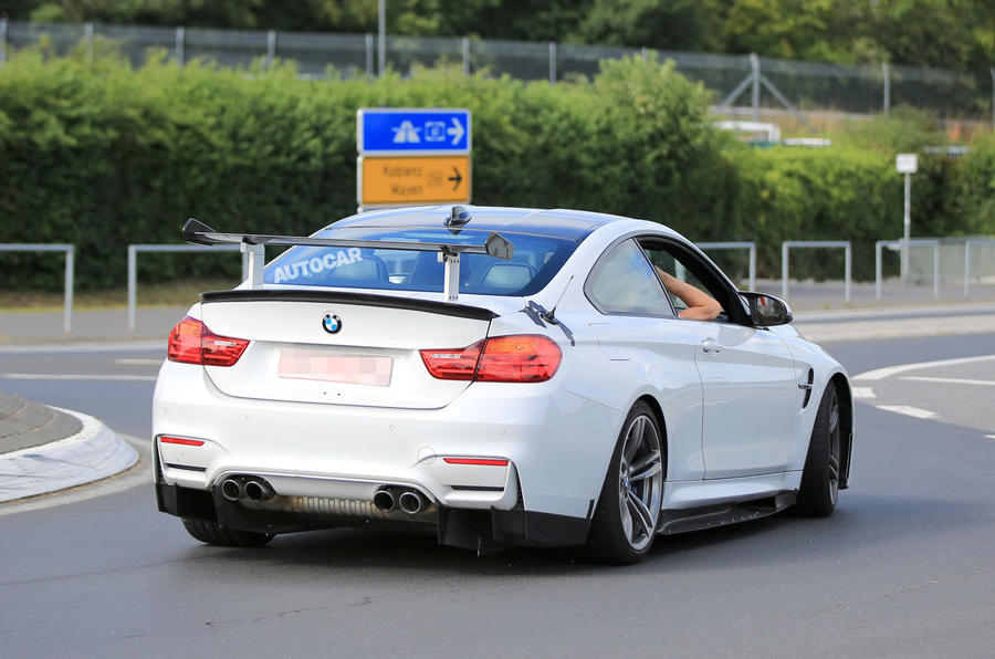 bmw m4 gt4 shown ahead of 2018 race debut autocar. Black Bedroom Furniture Sets. Home Design Ideas