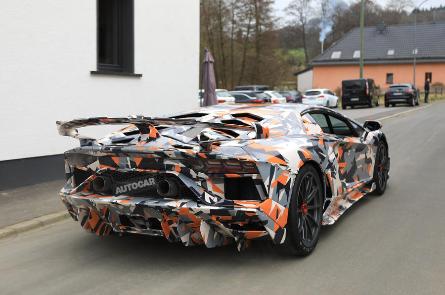 Lamborghini Aventador Svj Revealed Ahead Of Pebble Beach Autocar