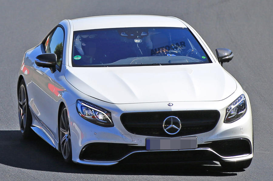 Mercedes-AMG SL 63 spied chassis testing