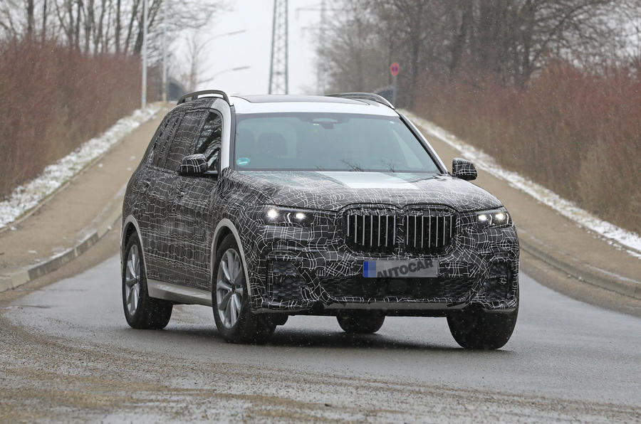 7 Passenger Suv >> 2019 BMW X7: testing video shows off-road ability | Autocar