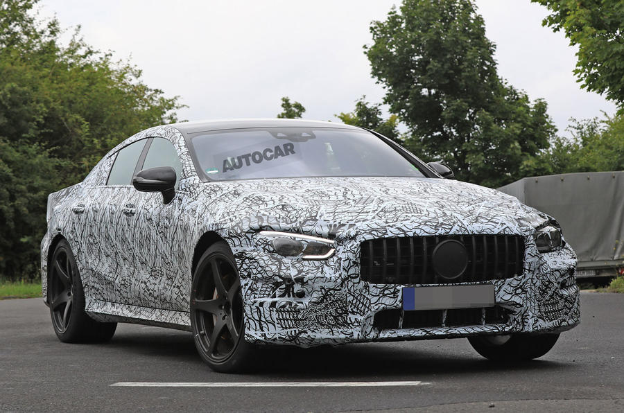 Mercedes-AMG GT four-door - 800bhp hybrid system under development