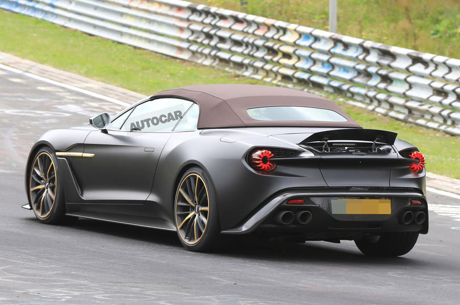 Aston Martin Vanquish Zagato Volante And Speedster Spotted