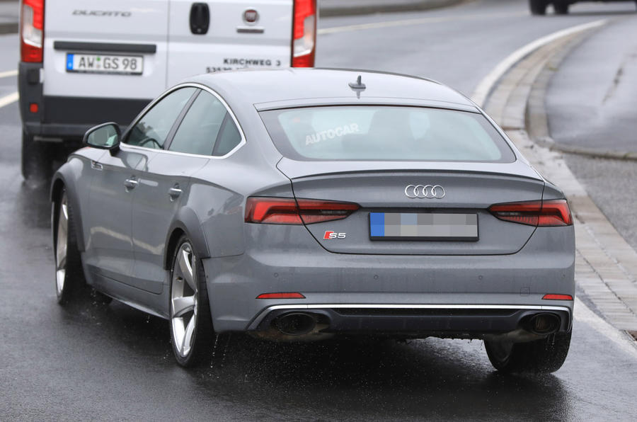 444bhp Twin Turbo V6 Powered Audi Rs5 Sportback Seen
