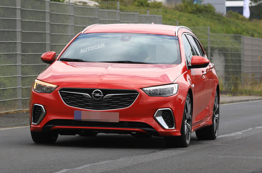 Vauxhall Insignia Sports Tourer GSi due with 252bhp and all-wheel drive