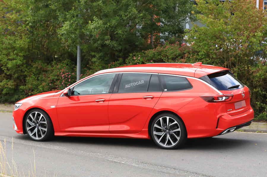 Vauxhall Insignia Sports Tourer Gsi Due With 252bhp And