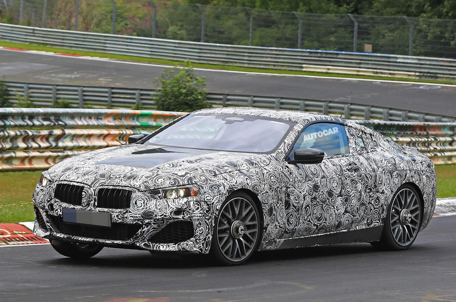 BMW 8 Series test car offers clearest glimpse of coupé design
